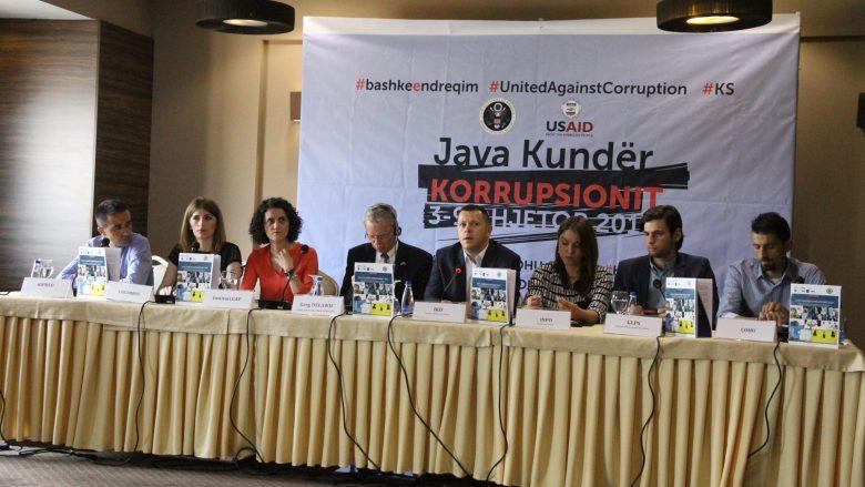 """Raportimet dhe ndikimi i OJQ-ve të koalicionit """"Java Kundër Korrupsionit 2017"""""""