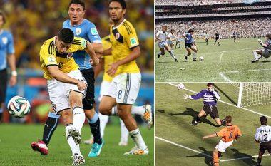 Top 10 golat më të bukur në histori të Kampionateve Botërore – Nga Pele e Bergkamp te Maradona, golat që kanë çmendur të gjithë tifozët e futbollit