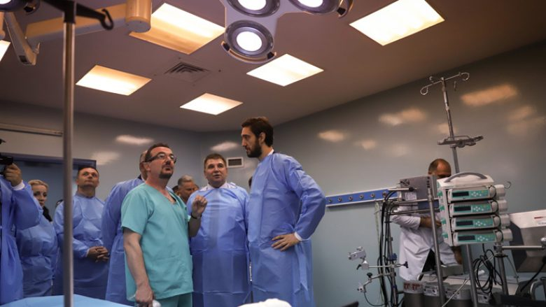 Ismaili: Hapja e dy sallave të reja në Kardiokirurgji krijon mundësi për eliminimin e listës së pritjes