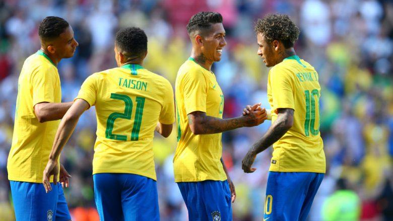Sipas përllogaritjeve të shkencëtarëve, Brazili e fiton Botërorin