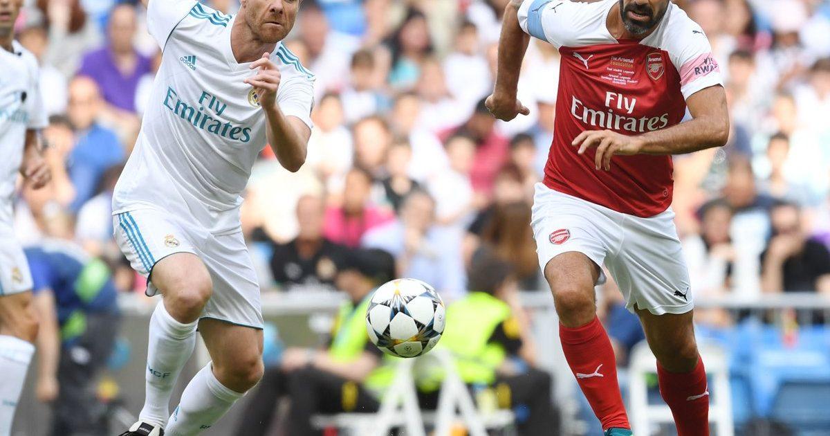 Legjendat e Realit fitojnë ndaj atyre të Arsenalit, Real shënoi gol të bukur me kokë