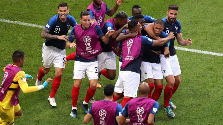 Franca në çerekfinale të Kupës së Botës pas fitores dramatike ndaj Argjentinës