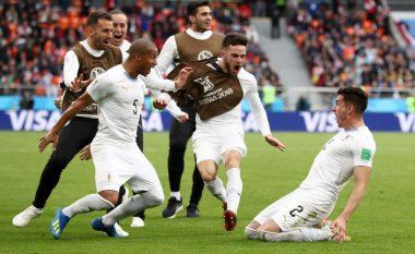 Uruguai në minutat e fundit triumfon ndaj Egjiptit të Salahut