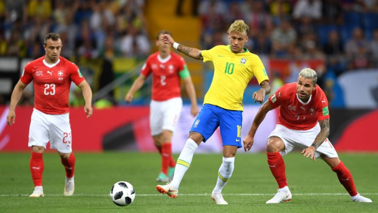 Neymar dhe Valon Behrami, Foto: Getty Images