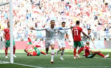 Portugalia mposht Marokun, Ronaldo thyen rekord