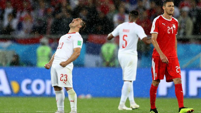 Shaqiri poston foton e gëzimit final ndaj serbëve: Kjo ndjenja