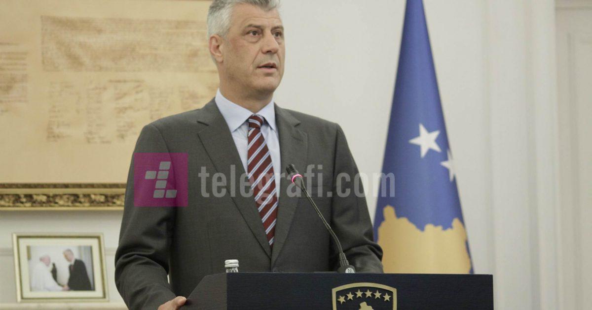Thaçi: Dështimi i marrëveshjes Kosovë-Serbi, kthim tragjik prapa