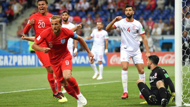 Anglia i falet Kanet, fiton më vështirësi në fund ndaj Tunizisë