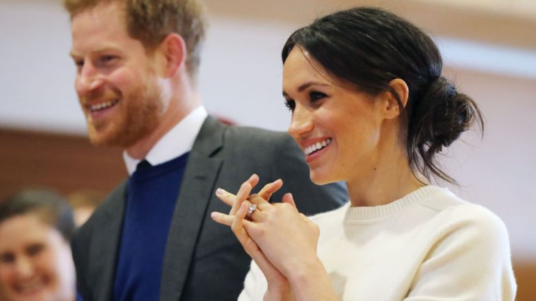 Princi Harry dhe Meghan Markle (Foto by  Niall Carson - Pool/Getty Images/Guliver)