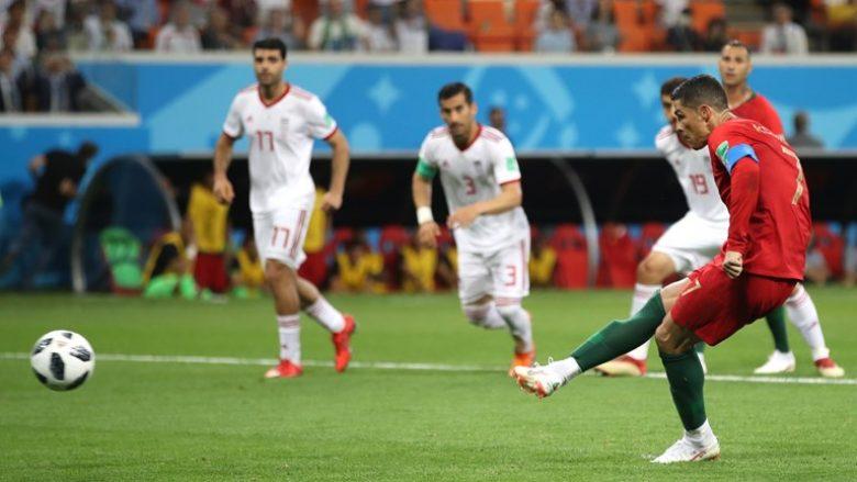 Ronaldo humb penalltinë ndaj Iranit