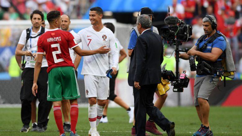 Cristiano Ronaldo dhe Achraf Hakimi (Foto: Getty Images)