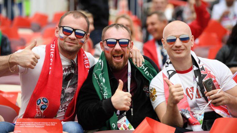 Rusi – Arabi Saudite, formacionet zyrtare të ndeshjes hapëse të Kupës së Botës