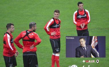 Ministri serb i provokon futbollistët tanë: Nuk e di nëse luajmë kundër Zvicrës, Shqipërisë apo Prishtinës