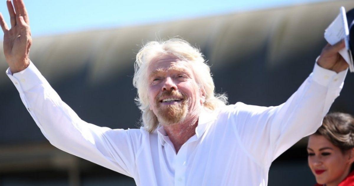 Për produktivitet dhe lumturi, dëgjoni tri këshillat e Richard Branson-it