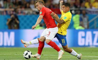Notat e lojtarëve: Brazili 1-1 Zvicra, paraqitje e mirë nga Shaqiri dhe Behrami