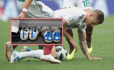 Kroos në Botëror me këpucë të njëjta që nga viti 2014