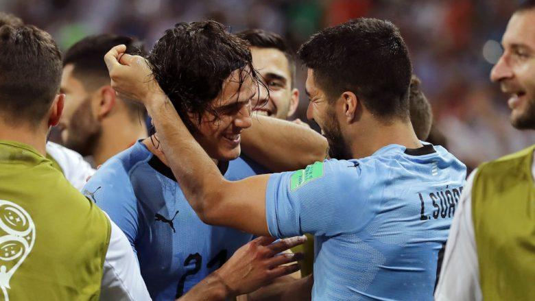 Uruguai eliminon Portugalinë e Ronaldos, kalon në çerekfinale të Kupës së Botës