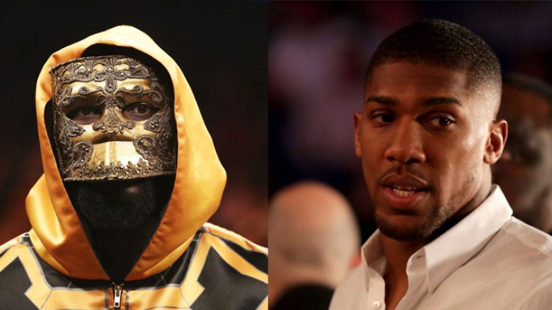 Deontay Wilder dhe Anthony Joshua (Foto: Getty Images/Guliver)
