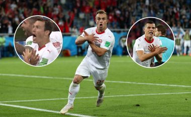 Kapiteni Lichtsteiner i del në mbrojtje Xhakës dhe Shaqirit: Ishte më shumë se futboll për ta, festimet me shqiponjë janë të drejta