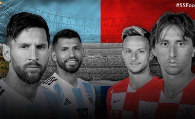 Argjentinë - Kroaci, formacionet zyrtare