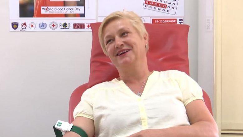 Shtohet numri i dhuruesve vullnetarë të gjakut (Video)