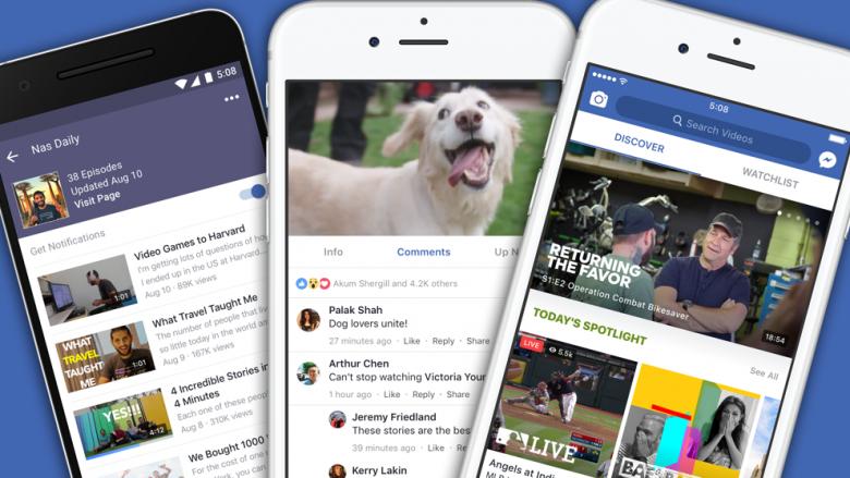 Facebook po investon edhe më shumë në Watch