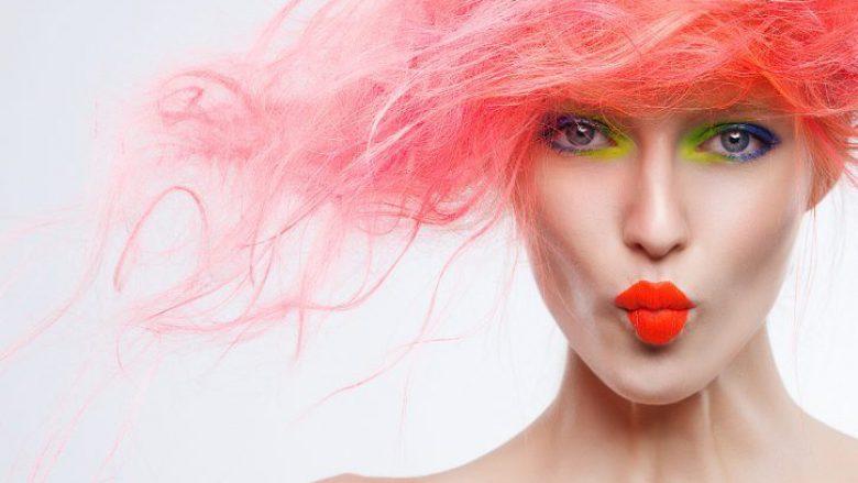 Flokët rozë, guxim dhe trend! (Foto)