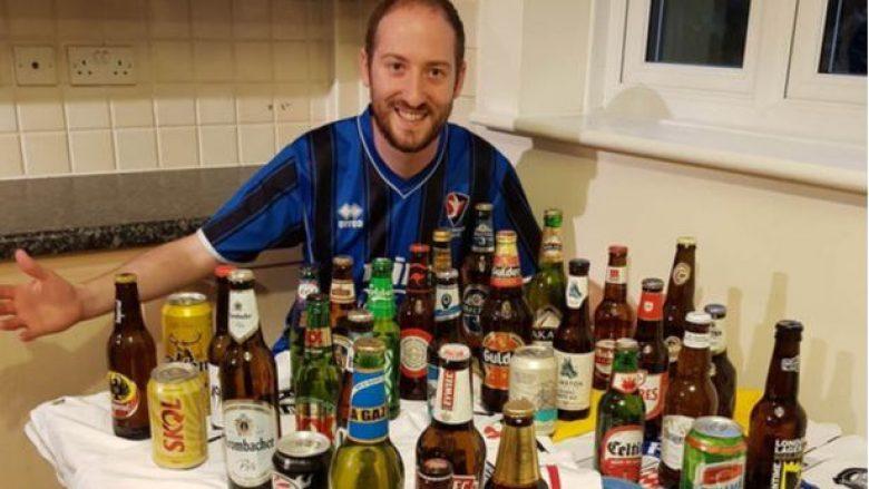 Tifozi i futbollit mbledh birra nga secila prej 32 kombëtareve që janë pjesë e Kampionatit Botëror – Nga Panama e Senegali te Arabia Saudite e Irani