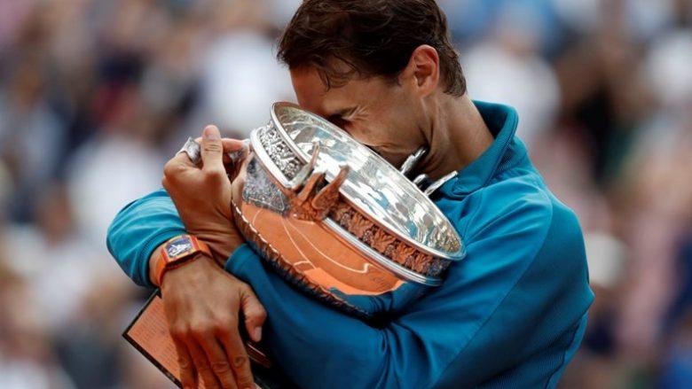 Rafael Nadal bëhet tenisti i tretë që ka fituar mbi 100 milionë dollarë prej turneve