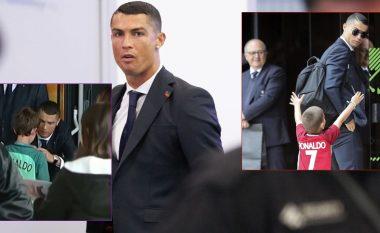 Ronaldo jo vetëm lojtar, por edhe njeri i madh - ai gjen gjithmonë kohë për tifozët e tij