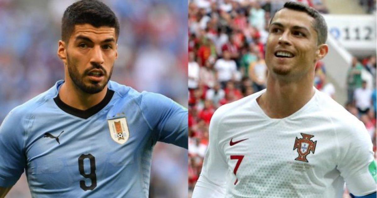 Uruguai-Portugali, formacionet zyrtare