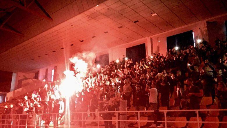 Festa në Gjilan pas golit të Liricon Lecit, Foto: Visar Beqiri