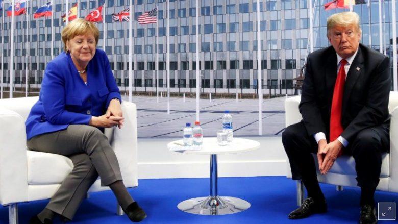 Trump-Merkel ulin tonet pas takimit në samitin e NATO-s