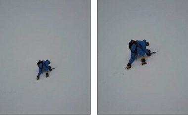 Mendohej se kishte vdekur në njërën nga kodrat më të larta në botë, droni zbuloi lokacionin e alpinistit britanik (Video)