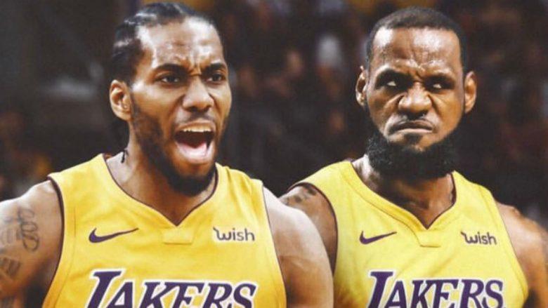 Pas LeBron Jamesit, Los Angeles Lakers kërkon shërbimet e Kawhi Leonard
