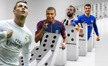 Transferimi i Ronaldos te Juventusi mund të ketë efekt 'domino' te sulmuesit e tjerë