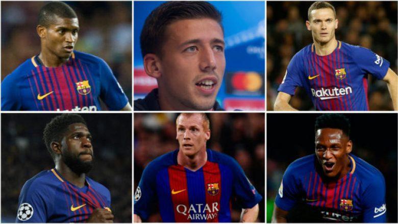 Barcelona ka harxhuar 100 milionë euro në gjashtë mbrojtës për ta zëvendësuar Puyolin