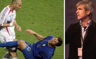 Gjyqtari Elizondo tregon se si e mori vendimin për kartonin e kuq ndaj Zidanes pasi goditi me kokë Materazzin