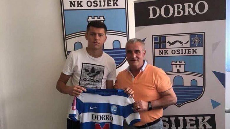 Daku prezantohet te Osijeku: Hap i madh për mua