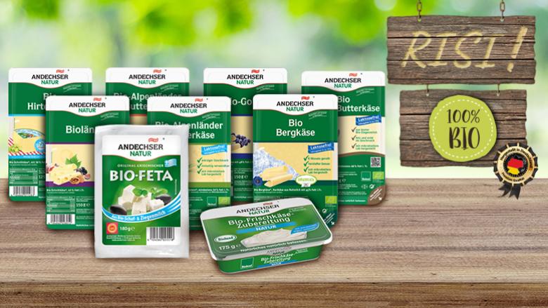 Produktet organike gjermane Andechser Natur vijnë edhe në tregun tonë