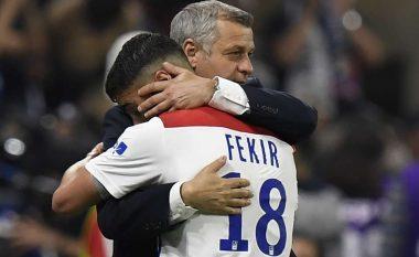 Trajneri i Lyonit, Genesio: Nëse vjen një ofertë nga Liverpooli, Fekiri me siguri se do ta pranojë