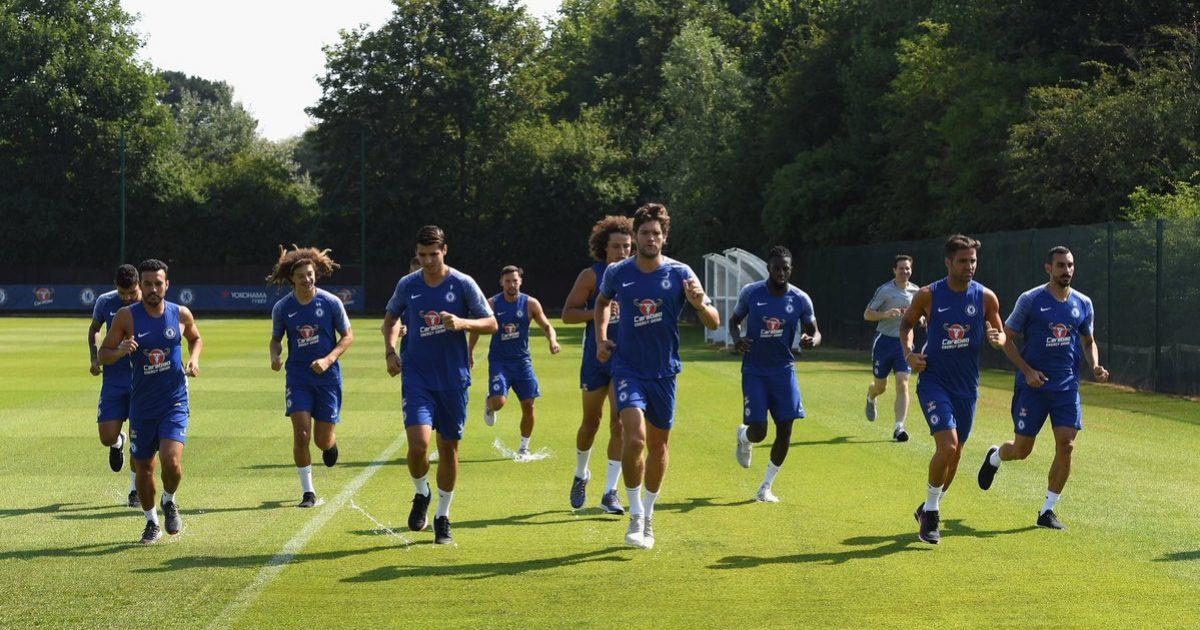 Chelsea fillon stërvitjet para sezonale me Conten, por Blutë nuk e përmendin fare në faqen zyrtare