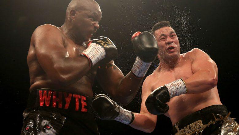 Whyte fiton me pikë ndaj Parkerit në një meç mjaft të ashpër, tani kërkon përballje me Joshuan