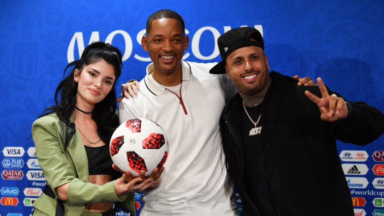Era Istrefi, Will Smith dhe Nicky Jam (Foto: Getty Images)