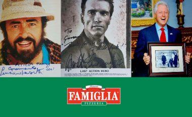 Kur yjet botërore kënaqen në picerinë e shqiptarëve - Famous Famiglia ndër vite më e preferuara nga fytyrat prominente