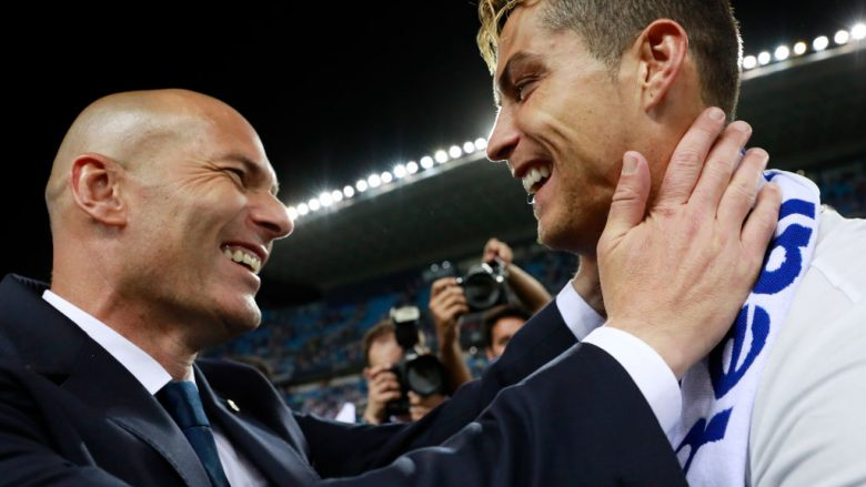 Zidane do t'i bashkohet Ronaldos te Juventusi