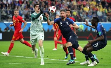 Courtois nuk e duronte festën e francezëve, refuzoi të shkoj në fushë për ta marrë titullin e portierit më të mirë