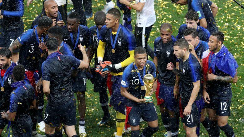 Francë e natyralizuar, vetëm shtatë futbollistë francez morën pjesë në Rusi