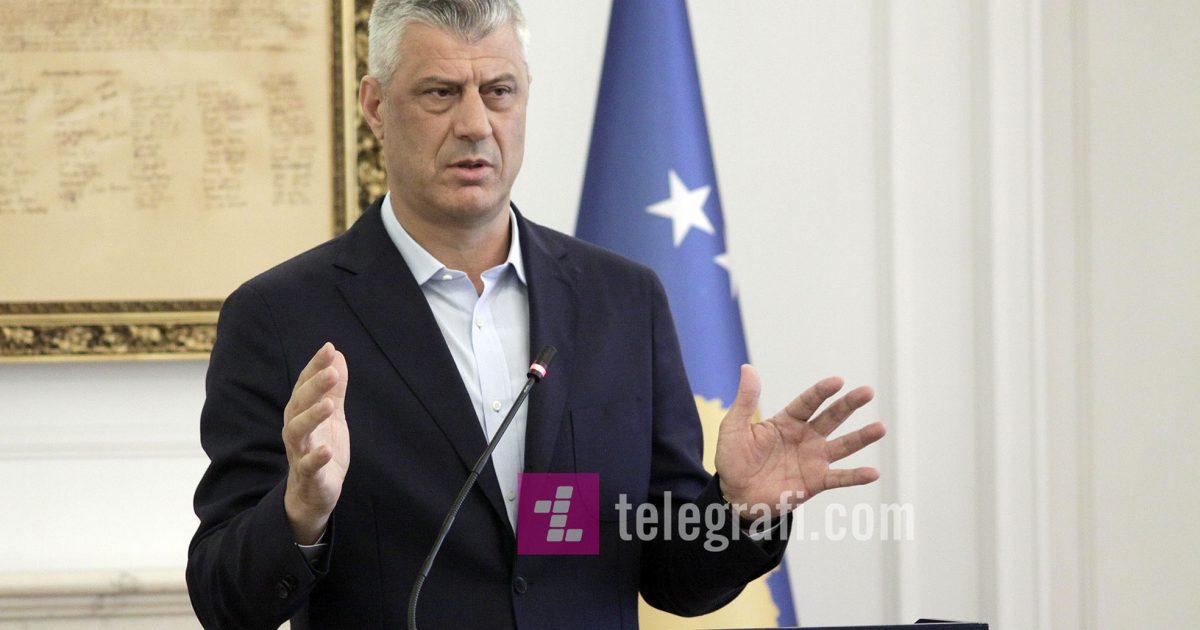 Thaçi përshëndet votimin e Rezolutës që e bën Limajn e Ahmetin kryenegociatorë