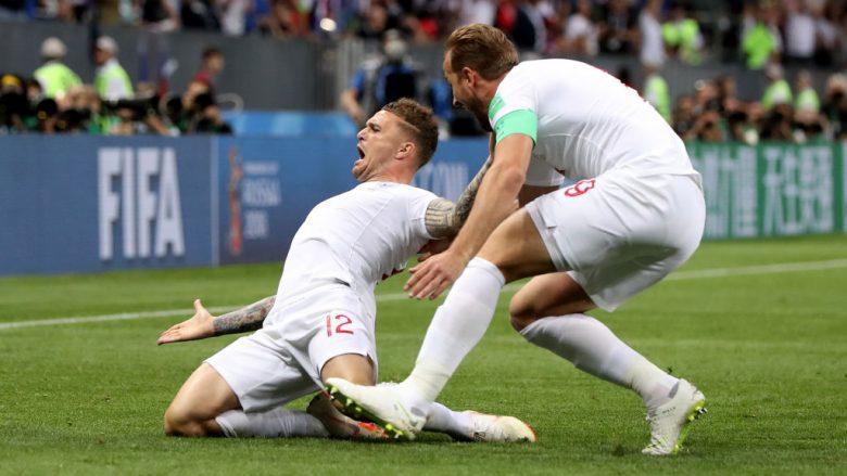 Anglia në epërsi ndaj Kroacisë, Trippier shënon nga gjuajtja e lirë